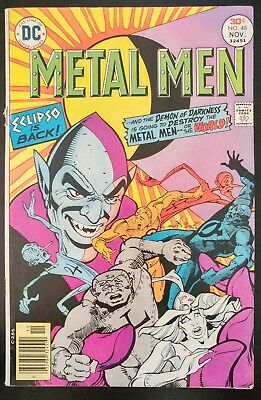 METAL MEN #48 (1976 DC Comics) ~ LOW GRADE Book