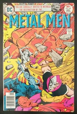 METAL MEN #49 (1976 1977 DC Comics) ~ LOW GRADE Book