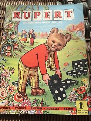 Rupert Adventure Series No 43 From 50's & 60's Rare Comic