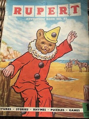 Rupert Adventure Series No 42 From 50's & 60's Rare Comic
