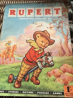 Rupert Adventure Series No 41 From 50's & 60's Rare Comic