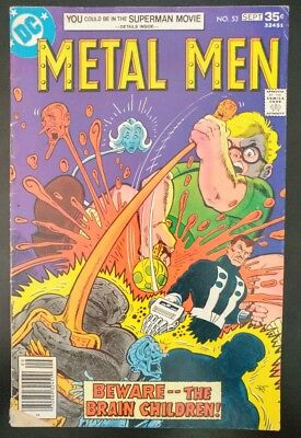 METAL MEN #53 (1977 DC Comics) ~ LOW GRADE Book