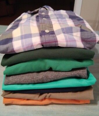 Men's name brand shirt Lot Size S~ Tommy, Nautica, AE, Ralph Lauren++8 items