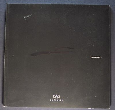 2009 Infiniti Catalog Brochure G37 G Sedan M35 EX FX QX Excellent Original 09