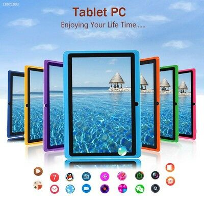 7'' Inch A33 Q88 Quad Core Dual Camera Android4.4 WIFI 4GB Tablet PC EU 388F