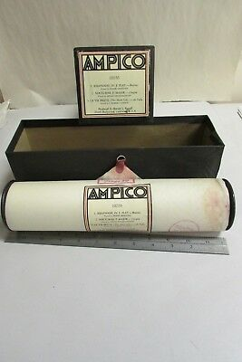 Vintage Ampico Piano Music Roll # 100155 With Box