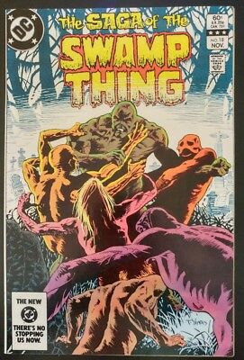 The SAGA of The SWAMP THING #18 (1983 DC Comics) ~ FN/VF Book