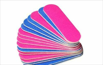 10Pcs Double Sided Professional Nail Files Nails Buffer Nails Filer - Disposable