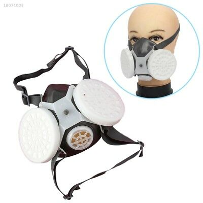 Anti-Dust Respirator Mask Industrial Chemical Gas Safety Guard Filter Tool 49E5