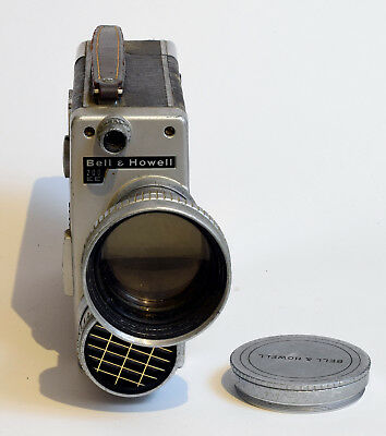 Bell & Howell 200 EE 16mm Movie Camera, w/ W.A.& Telephoto Lens - Free Shipping