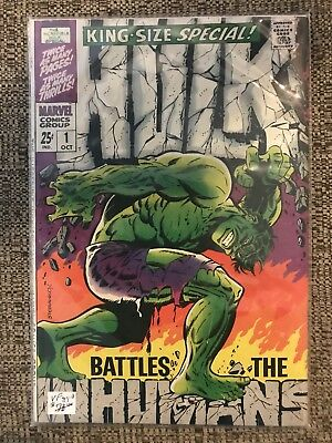 The Incredible Hulk Special #1 (Oct 1968, Marvel)