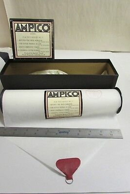 Vintage Ampico Piano Music Roll # 100685 Fox Trot Medley No. 7 With Box