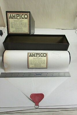 Vintage Ampico Piano Music Roll # 100935 Dance Music Series Program 11 With Box