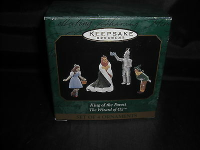1997 Hallmark King of the Forest-Wizard of Oz Miniature