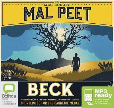 NEW Beck By Mal Peet CD in MP3 Format Free Shipping