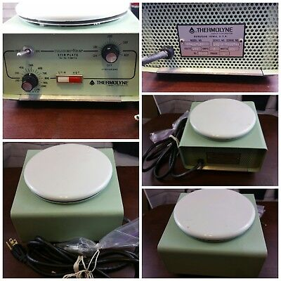 Thermolyne Stir Plate Laboratory Hot Plate, Machinist, Hobbyist  As is