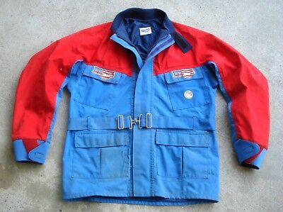 Vtg MS Racing MALCOLM SMITH Gore-Tex ISDE Enduro Jacket Size XL Made in USA
