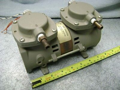 THOMAS AIR COMPRESSOR VACUUM PUMP 2107CE18-895C  115V 60hz