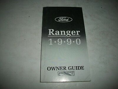 Nos 1990 Ford Ranger Owner Guide Manual New Unused Clean