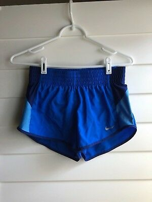 NIKE Blue Dri-Fit Running Shorts Size Extra Small