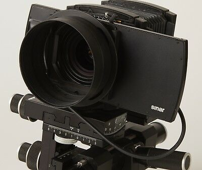 Sinar p3 view camera with bellows, LC shutter 100 and 55mm manual focus lens