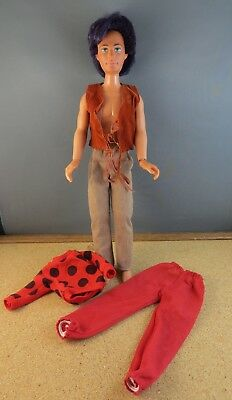 1980's RIO Road Manager of the Holograms (Jem) Original Man Doll 4015 #107