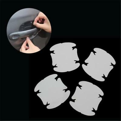 4Pcs Invisible Clear Car Door Handle Protector Film Scratch Guard Cover Stickers