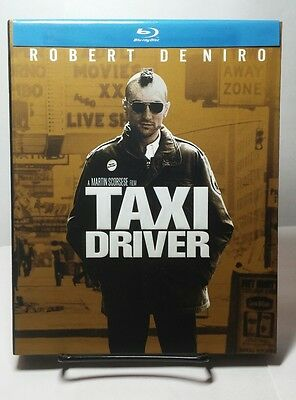 Taxi Driver 1976 (Blu-ray Disc,2011)w/12 Collector Movie Cards-Like NEW-Free S&H