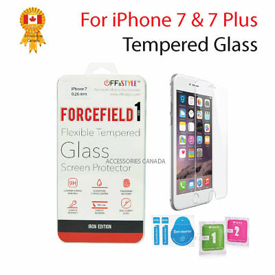 For Apple iPhone 7 or iPhone 7 Plus -  Premium Tempered Glass Screen Protector