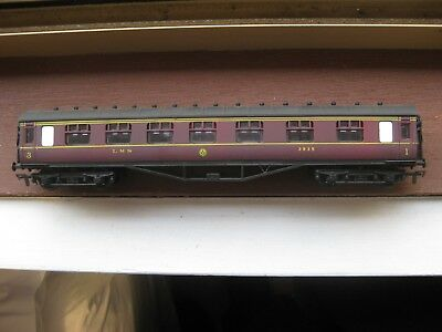 """Airfix Ref 54202-1.  60Ft Composite """"LMS"""" Date Modelled 1936-40. OO Scale."""