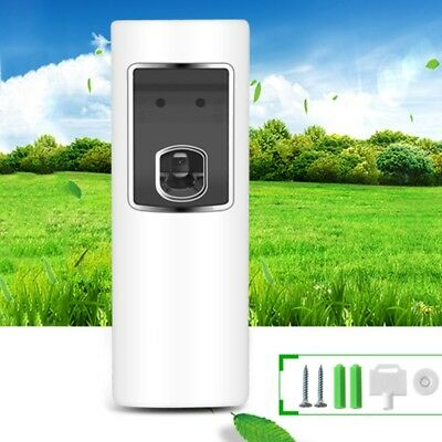 LED Light Automatic Sensor Aerosol Air Freshener Digital Spray Dispenser Perfume