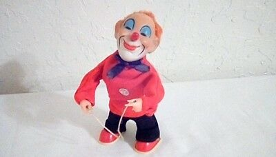 Vintage Max Carl (MC Original) Wind-Up Toy Clown DS19