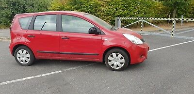 2010/59 Nissan Note 1.4 Spares Or Repairs Starts & Drives ENGINE Need Attention