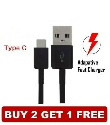 100% Genuine Samsung Galaxy S10 S9 S8+ Type C USB-C Sync Charger Charging Cable