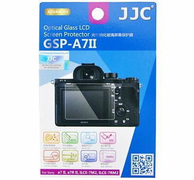 JJC GSPA7II Optical GLASS LCD Screen Protector for SONY A7II A7RII 7M2 7RM2 _AU