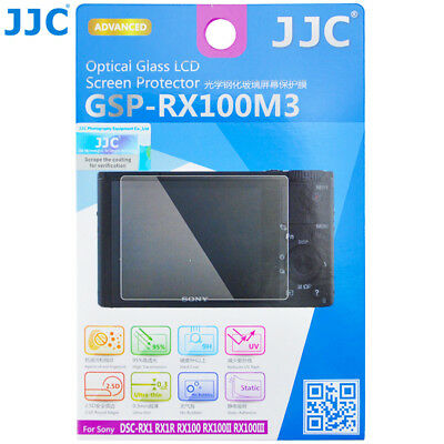 JJC GSP-RX100M3 GLASS LCD Screen Protector Film for Sony RX1 RX100VI RX1R_AU