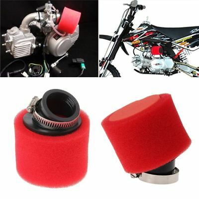 38mm  125cc Double Foam Pod Cleaner Motorcycle Air Filter for ATV PIT DIRT BIKE