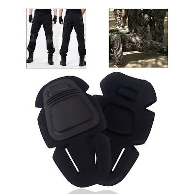 1 Pair Tactical Military Combat Paintball Skate Elbow Knee Pad Airsoft Pr,Prof