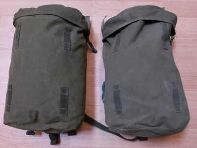 2 x Genuine British Army Side Pocket/Pouch Olive Green for Bergen 120L