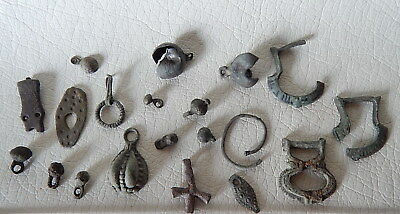 Ancient Vikings Bronze Artifacts.