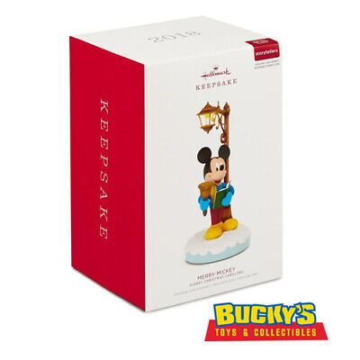 Disney Christmas Carolers Merry Mickey 2018 Hallmark Ornament
