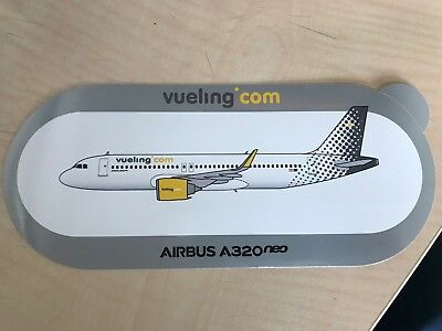 Sticker Airbus A320neo Vueling