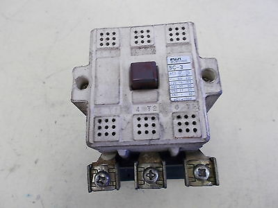 Fuji Electric Magnetic Contactor SC-3