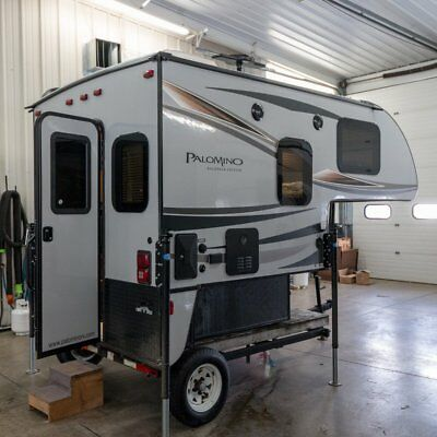 New Palomino Backpack 650 1/2 Ton Short Box Slide In Truck Camper Quality Built