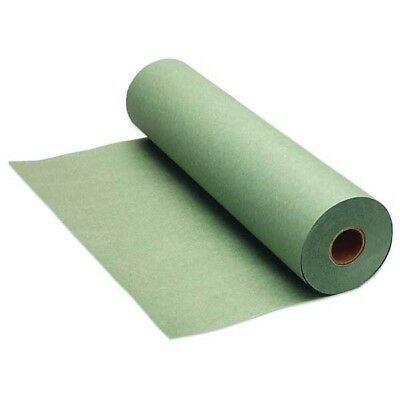 """18"""" Wide Green Economy-Grade Paint Masking Paper, Made in USA #7200-92"""