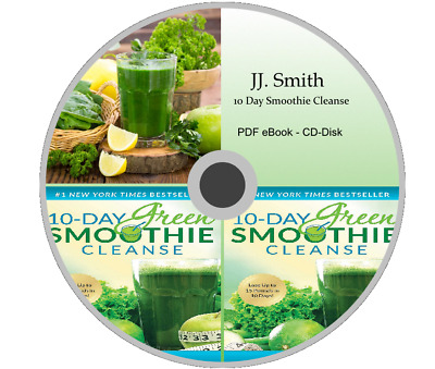10 Day Green Smoothie Cleanse: Lose Up to 15 Pounds by JJ Smith on CD-Disk F/S