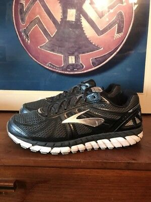 a3fe7003020 Brooks Mens 11.5 D Beast 16 Anthracite Black Gray SilVer Running Shoes  Sneakers