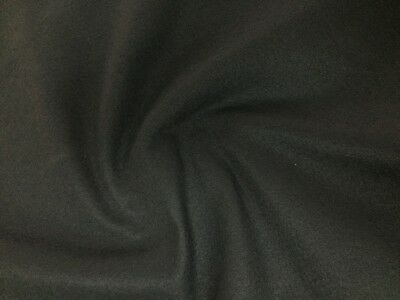 5MM FELT FABRIC BLACK THICK Heavy Soundproofing Crafts Displays Notice Boards