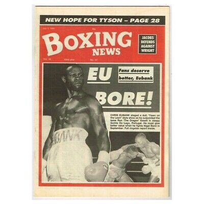 Boxing News Magazine July 3 1992 MBox3436/F Vol.48 No.27 Eu bore!