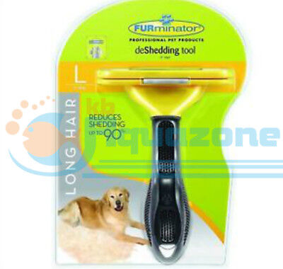 Furminator Deshedding Tool For Large Long-Haired Dogs